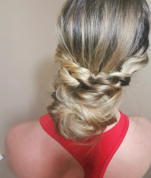 Day 13: Twisted Updo