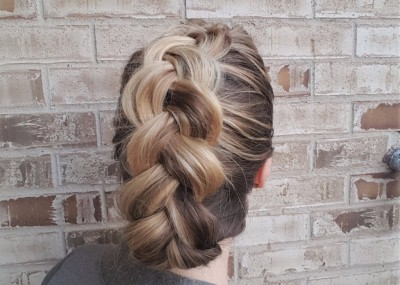 Day 29: Dutch French Braid